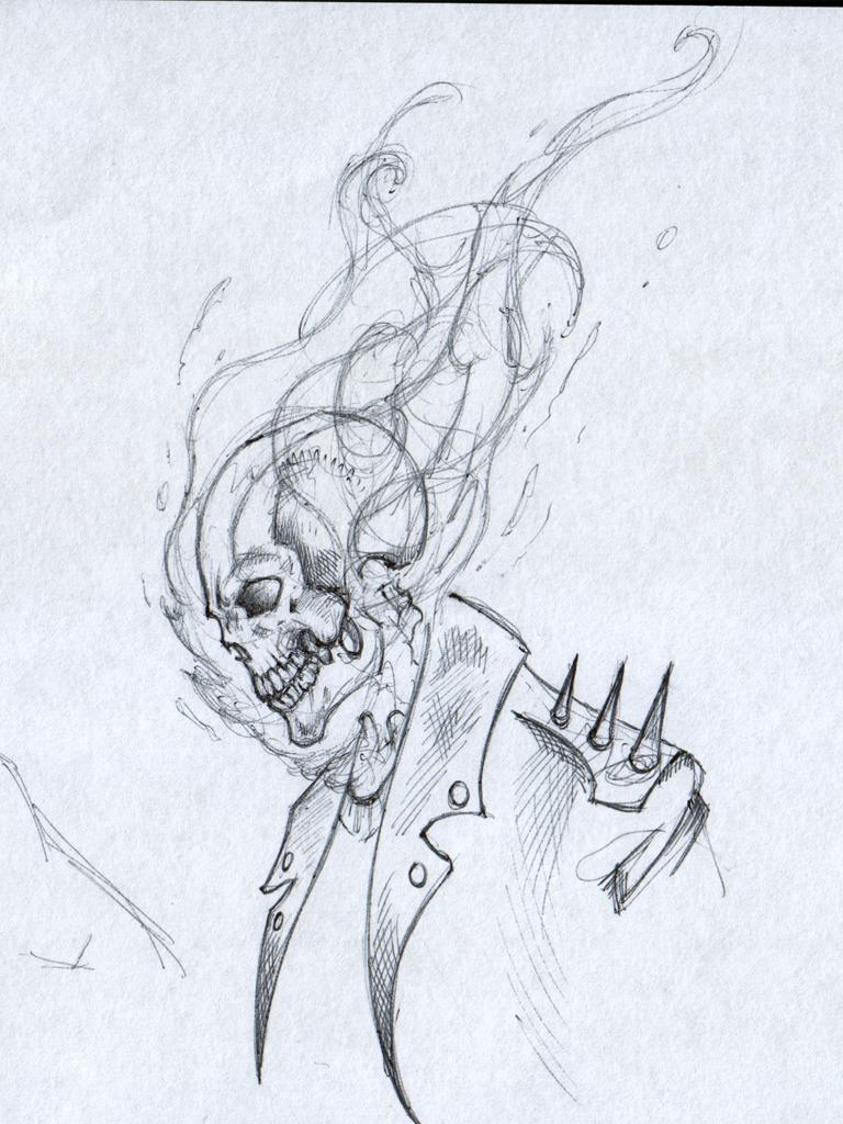 Ghost Rider By Saintyak On Deviantart