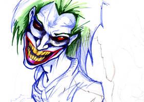 Joker's madness by SaintYak