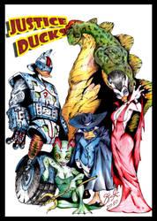Just Us Justice Ducks by SaintYak