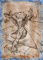 Robin jump by SaintYak