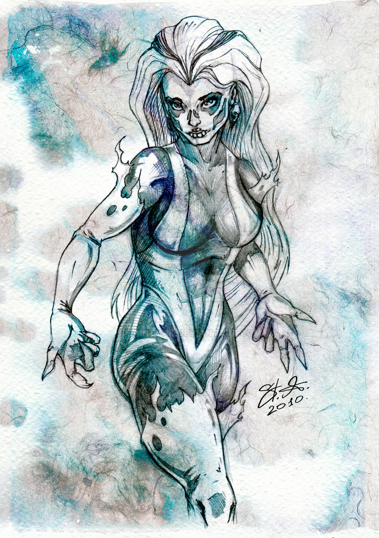 Silver Banshee by SaintYak