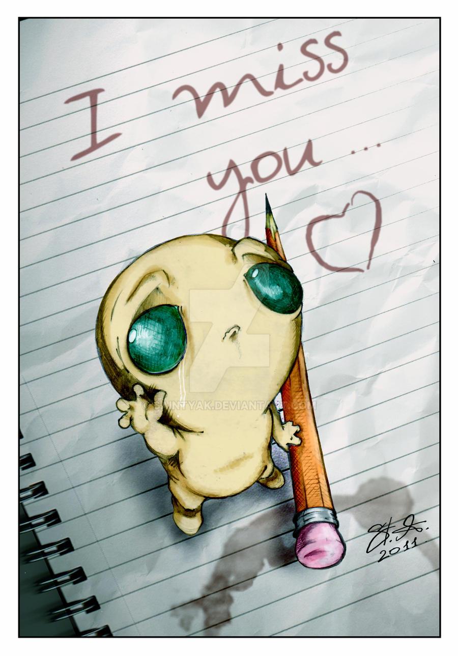 Miss You So Much By Saintyak On Deviantart