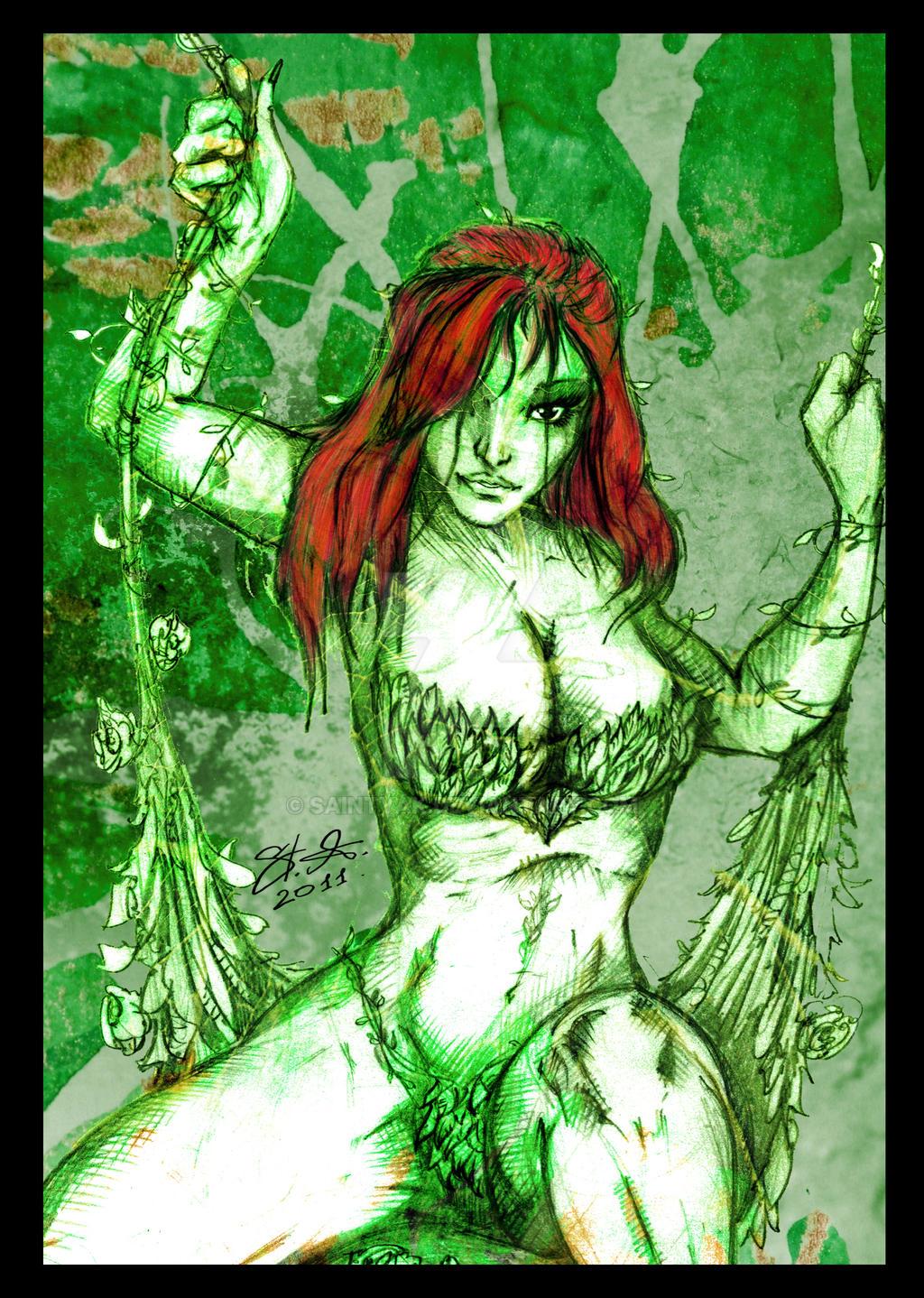 Poison Ivy sexy by SaintYak