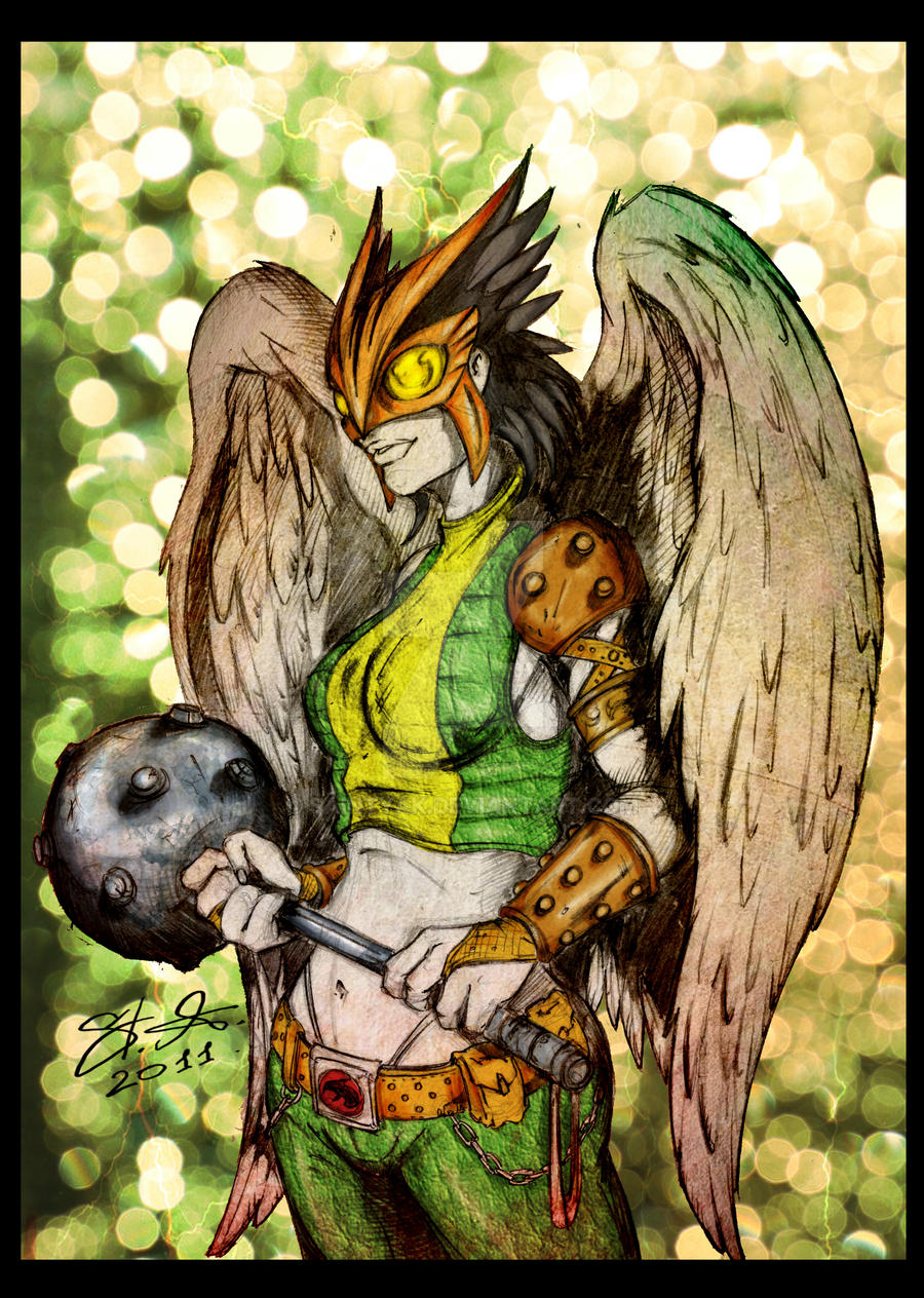 Hawkgirl by SaintYak