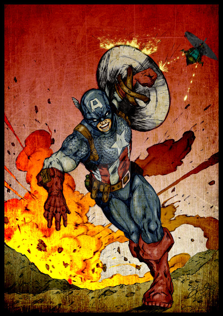 First Avenger by SaintYak