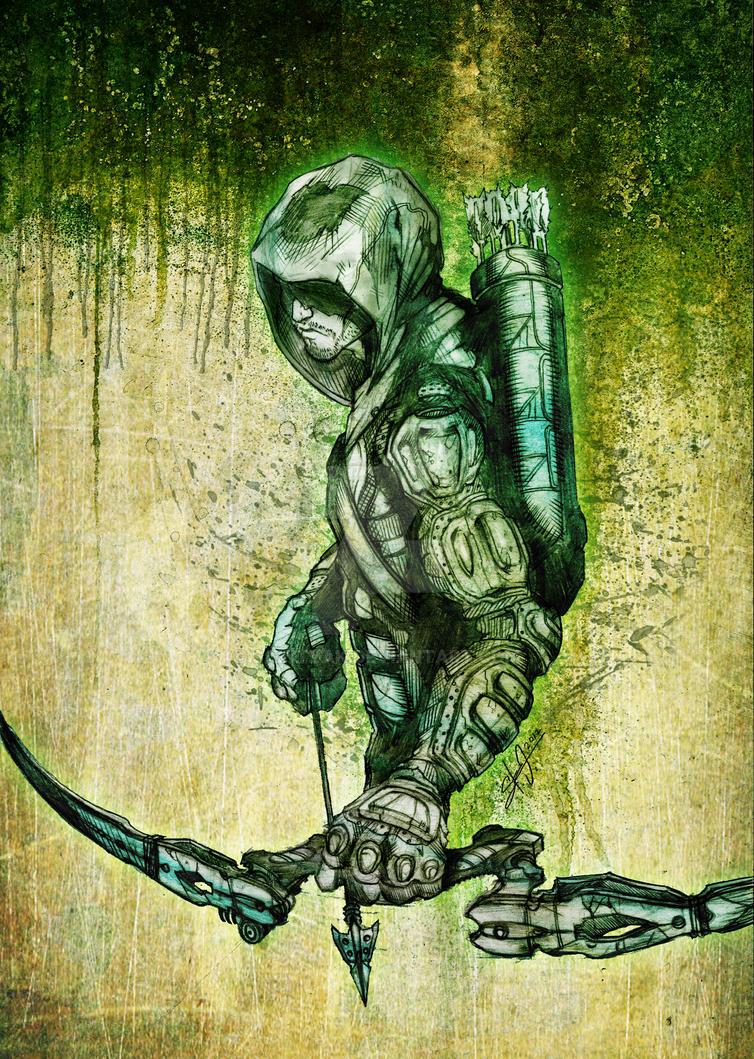 GREEN ARROW by SaintYak