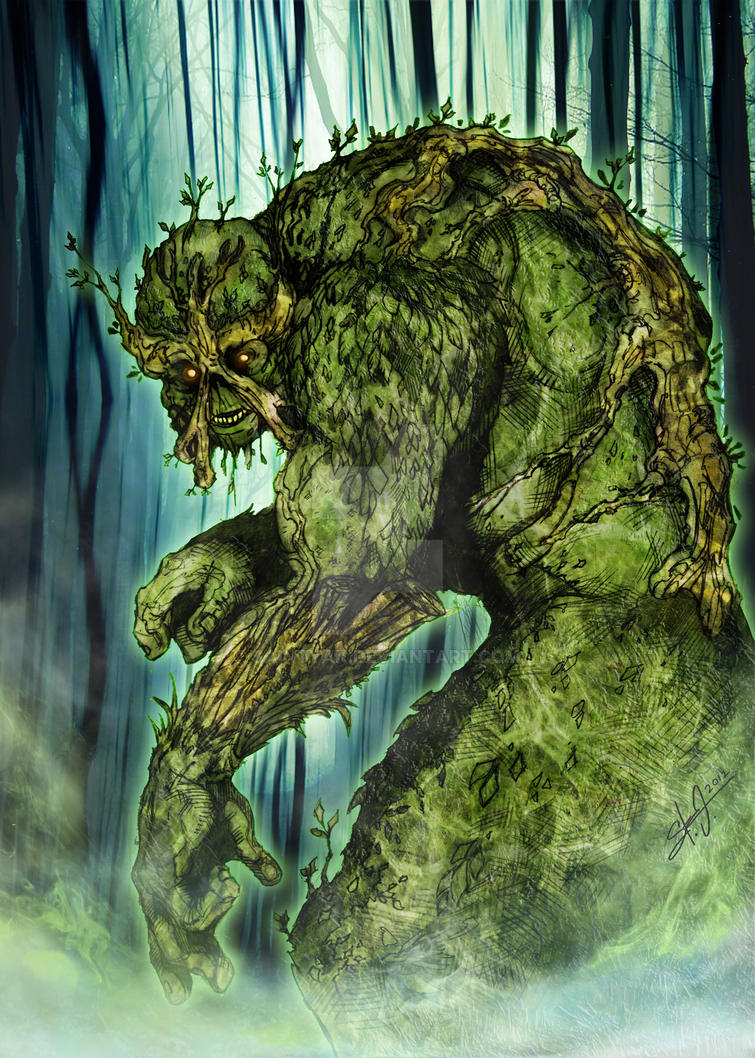 Swamp Thing by SaintYak on DeviantArt