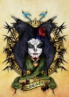 Dia De Los Muertos tatoo by SaintYak