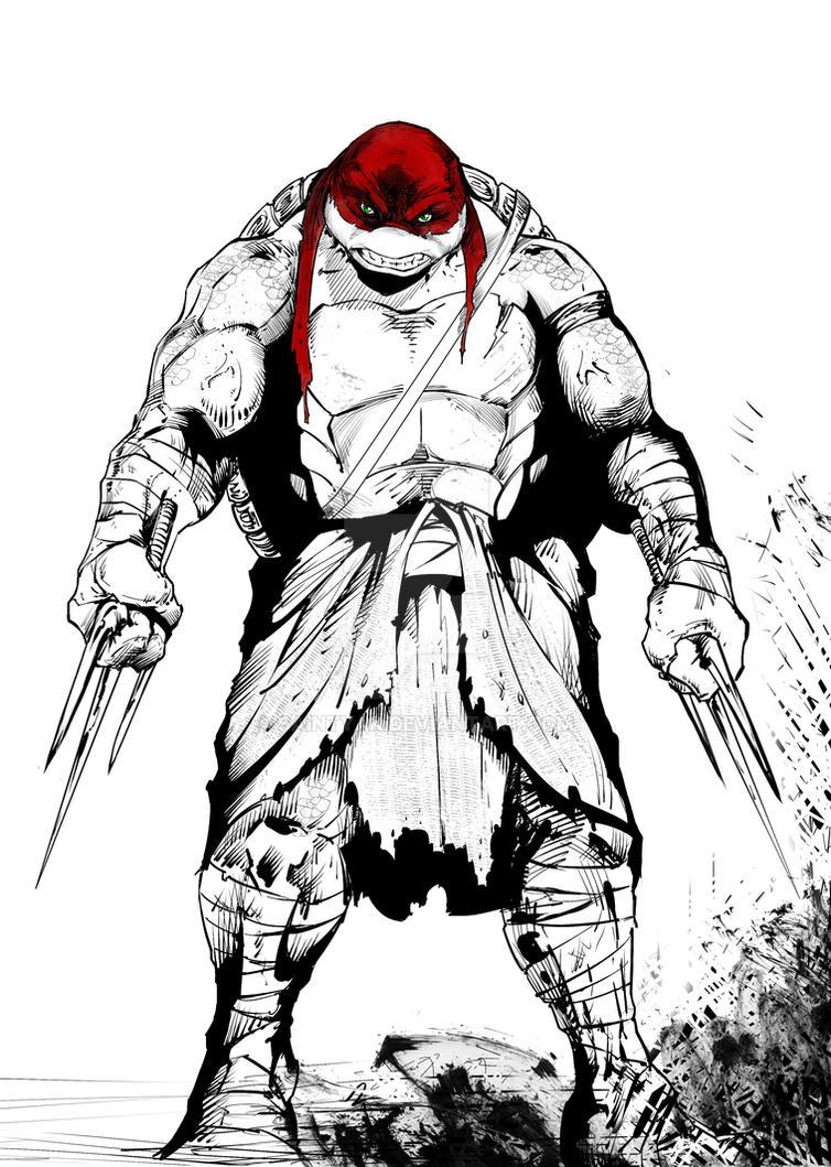 Raphael is cool but crude (Gimme a break!) by SaintYak on