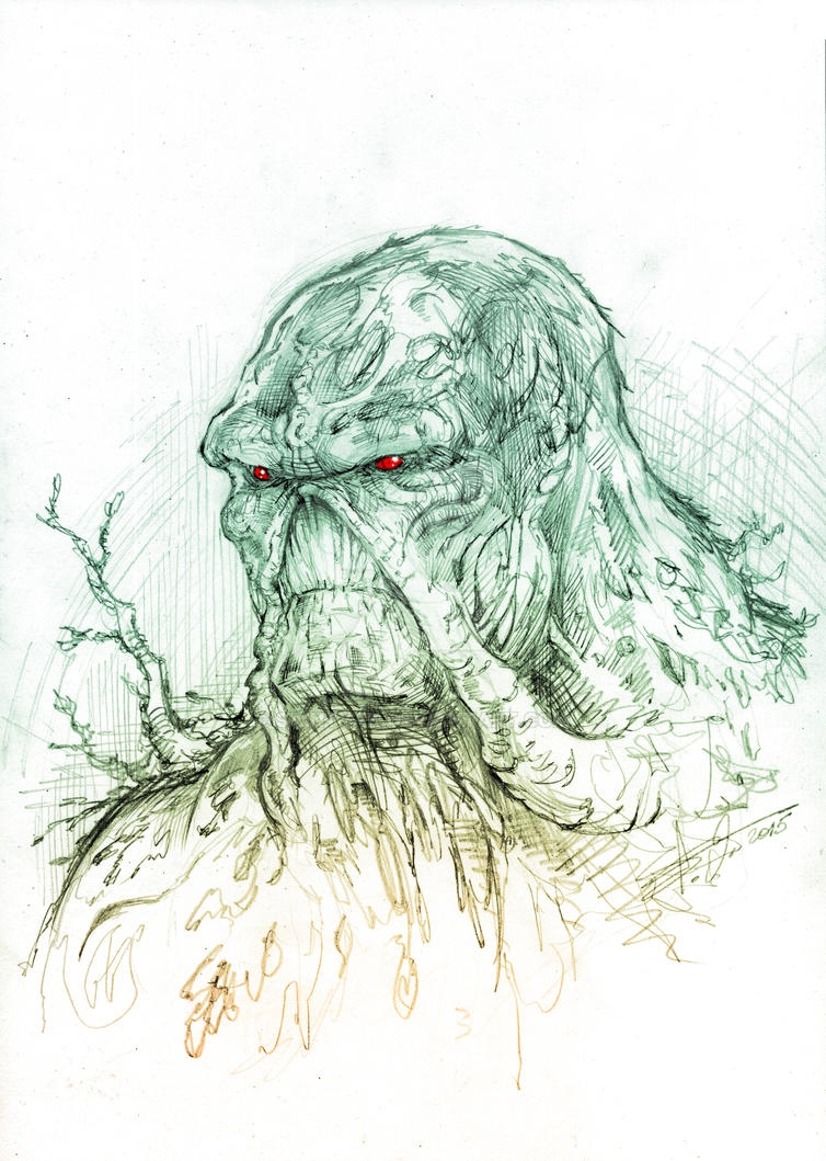 Swampthing by SaintYak
