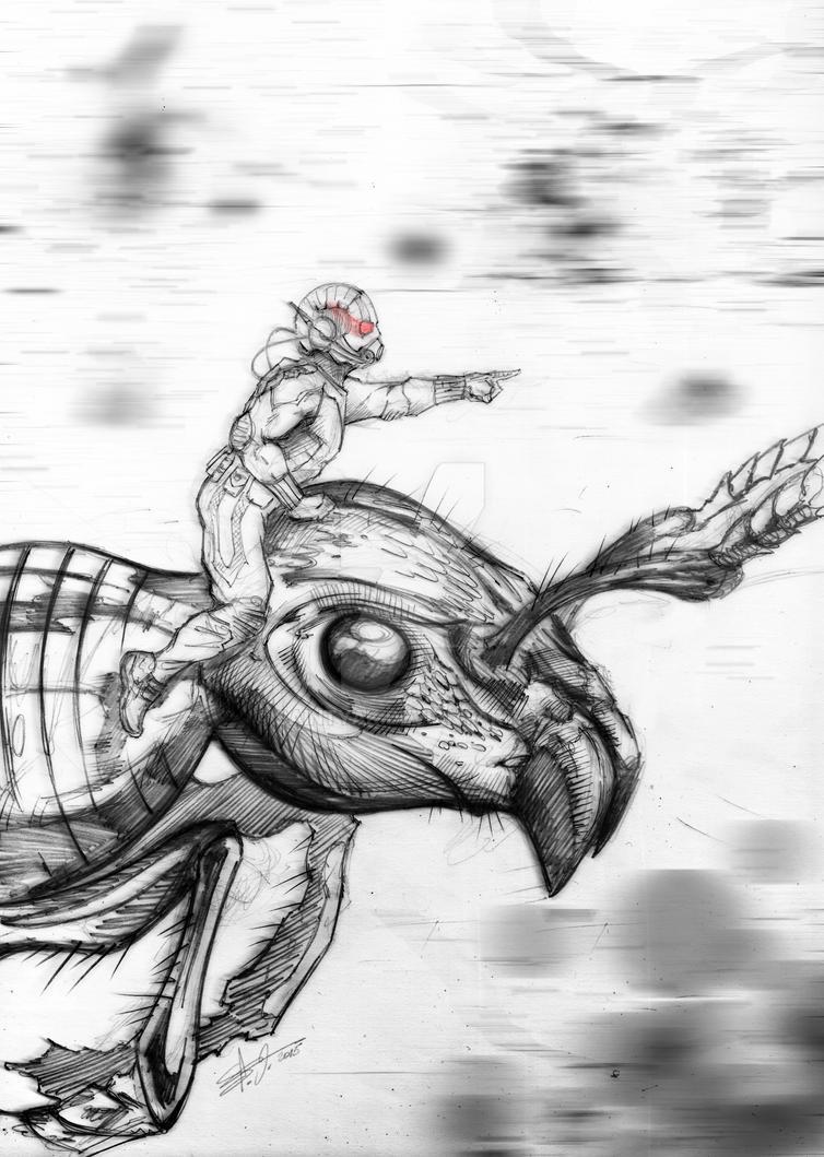 Antman by SaintYak