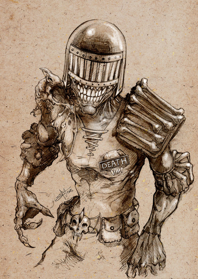 Judge Death by SaintYak