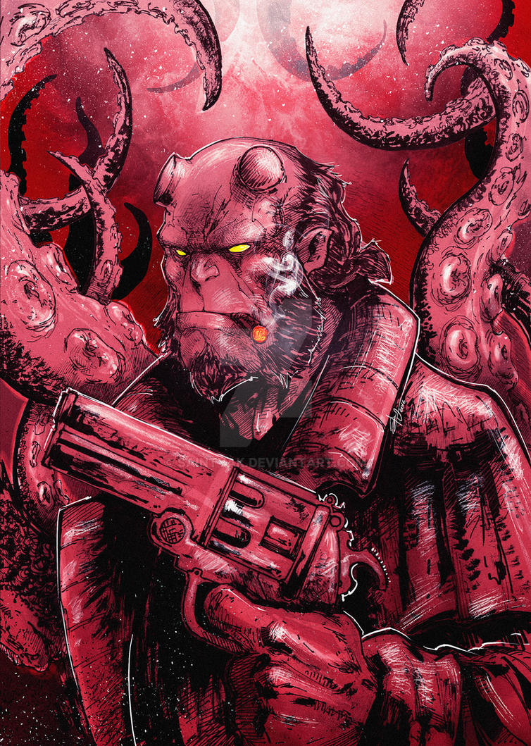 Hero from Hell by SaintYak