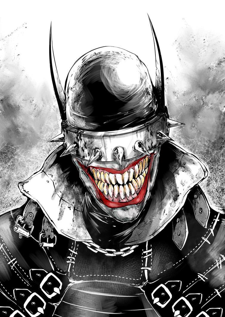 Batman Who Laughs by SaintYak