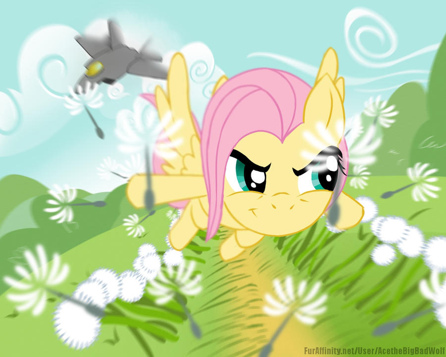 Fluttershy : The Hurricane by EnvythisRoadRunner