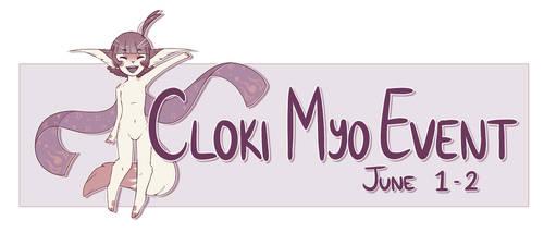 [CLOSED] ~CLOKI MYO EVENT + MYO RAFFLE~ by PeachThePlum