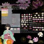 Lotus, decorative brushes for CSP