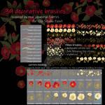 Camellia, decorative brushes for CSP