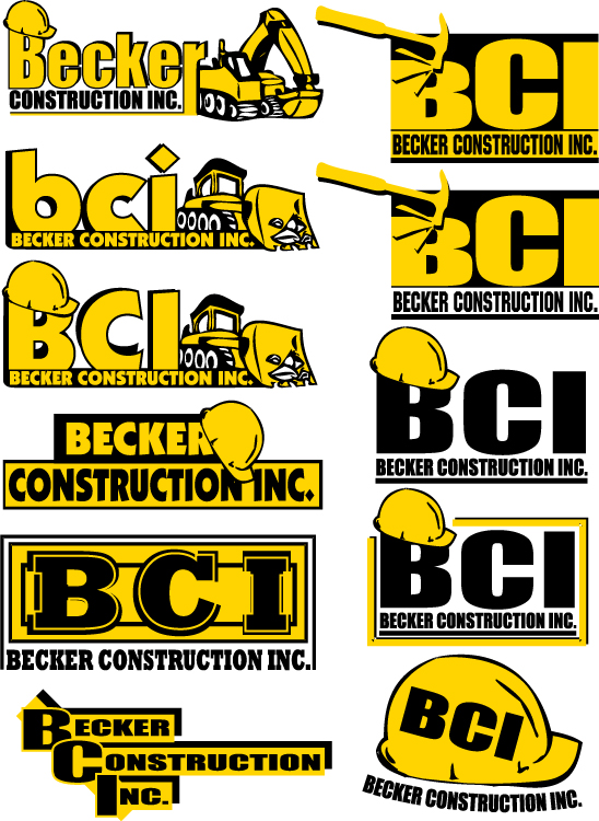 Becker Construction Logos 1 by jpost on DeviantArt