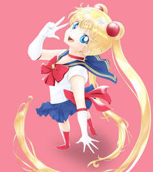Sailor Moon by pepeckt