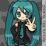 Miku says Peace