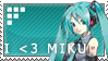 Miku Stamp by aristodemelugix