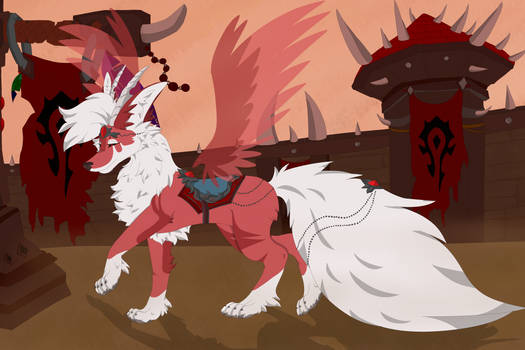 Fanart| Vulpine Familiar switched to Horde