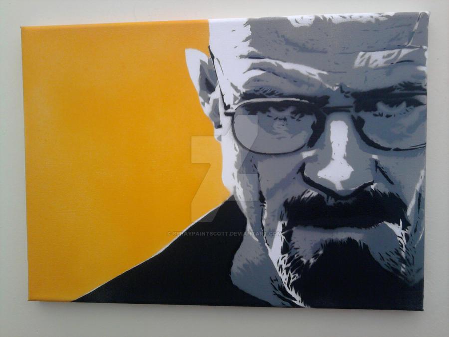 Breaking Bad Heisenberg by spraypaintscott