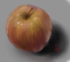 apple sketch by serenduke