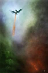 Dragon speed painting