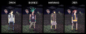 Zombie Game Characters