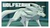 Wolfszahn Stamp by VitaniFox85