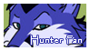Hunter Stamp by VitaniFox85