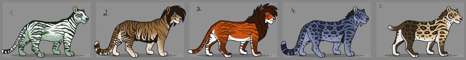 BigCats Adopts II Closed by VitaniFox85