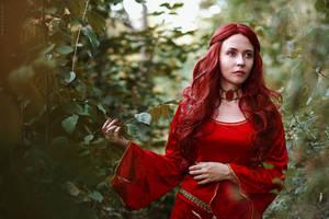 Melisandre cosplay (Game of Thrones) by helenapolanskyart