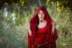 Melisandre cosplay (Game of thrones)