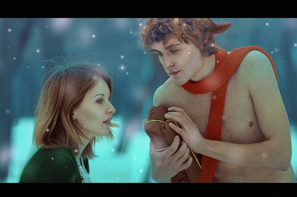 Mr Tumnus and Lucy (The Chronicles of Narnia)