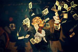 circus illusionist