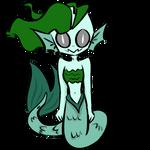 Creepy Mermaid OC by xXPixelTheDragonXx