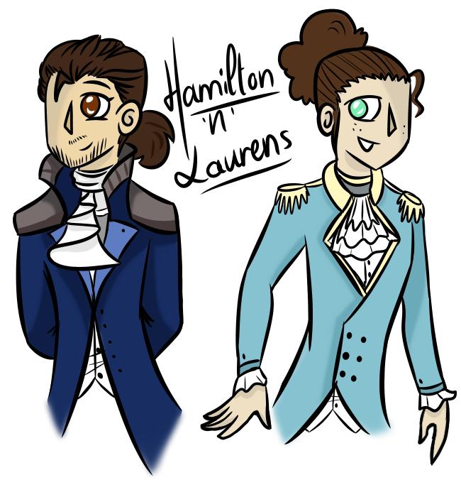 Hamilton - Ham and Laurens Fanart 3 copy 2 by xXPixelTheDragonXx