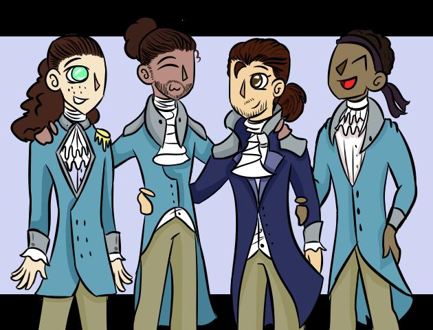The Hamilton Boys by xXPixelTheDragonXx