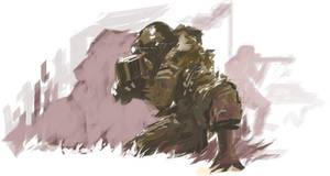 Army by BLACKBUBBLEZ