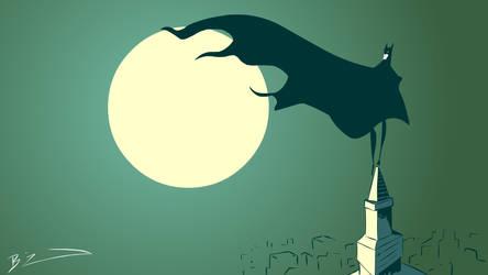batman by BLACKBUBBLEZ