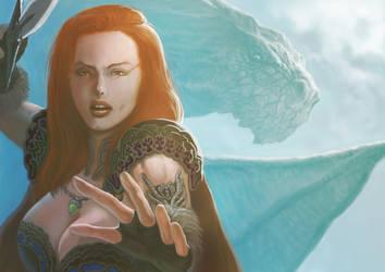 Dragon Warrior by BLACKBUBBLEZ