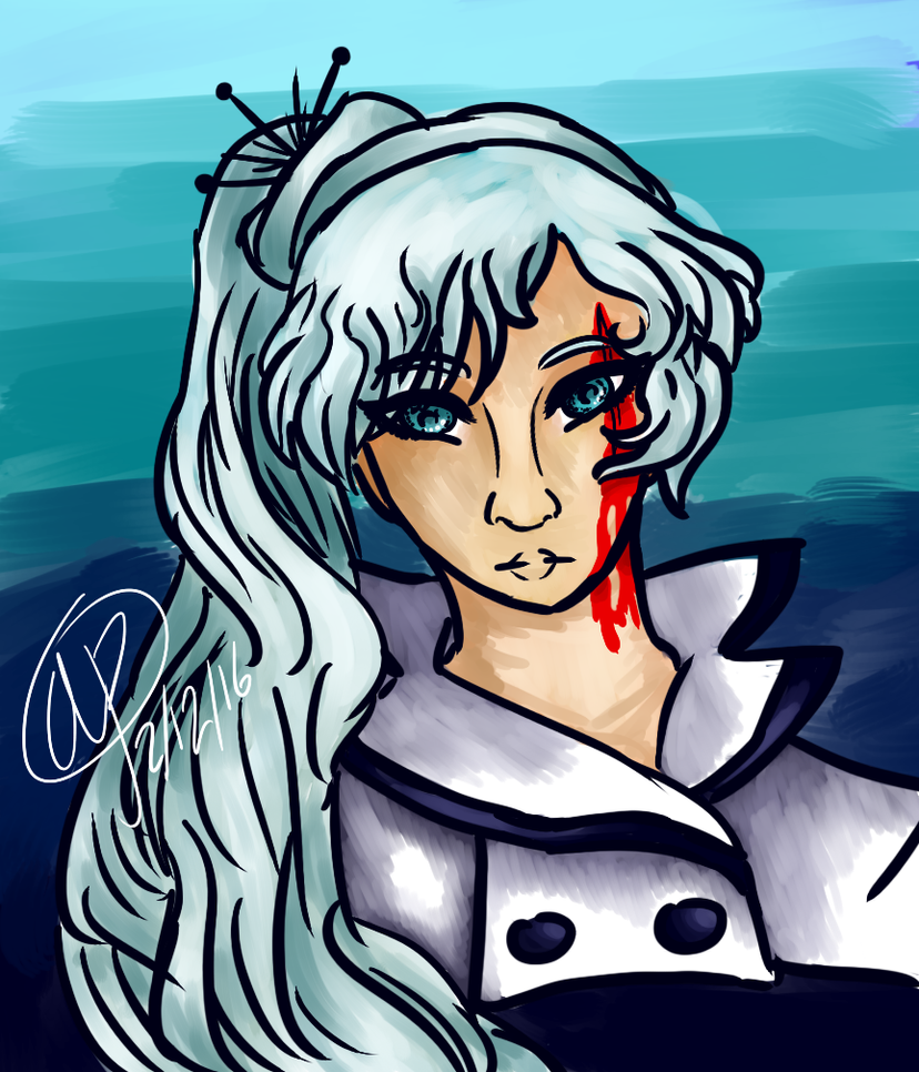 my problematic ice daughter by DropsOfHybridDNA