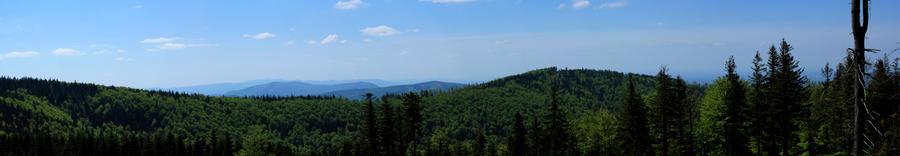 Mountain Landscape by Zaprzepaszczonesily