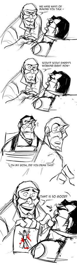 A really evil Spy but a really good dad