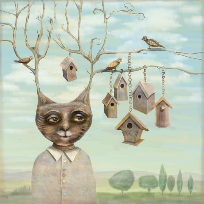 Bird Houses by fizzyjinks