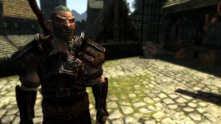 Mercenary Orc