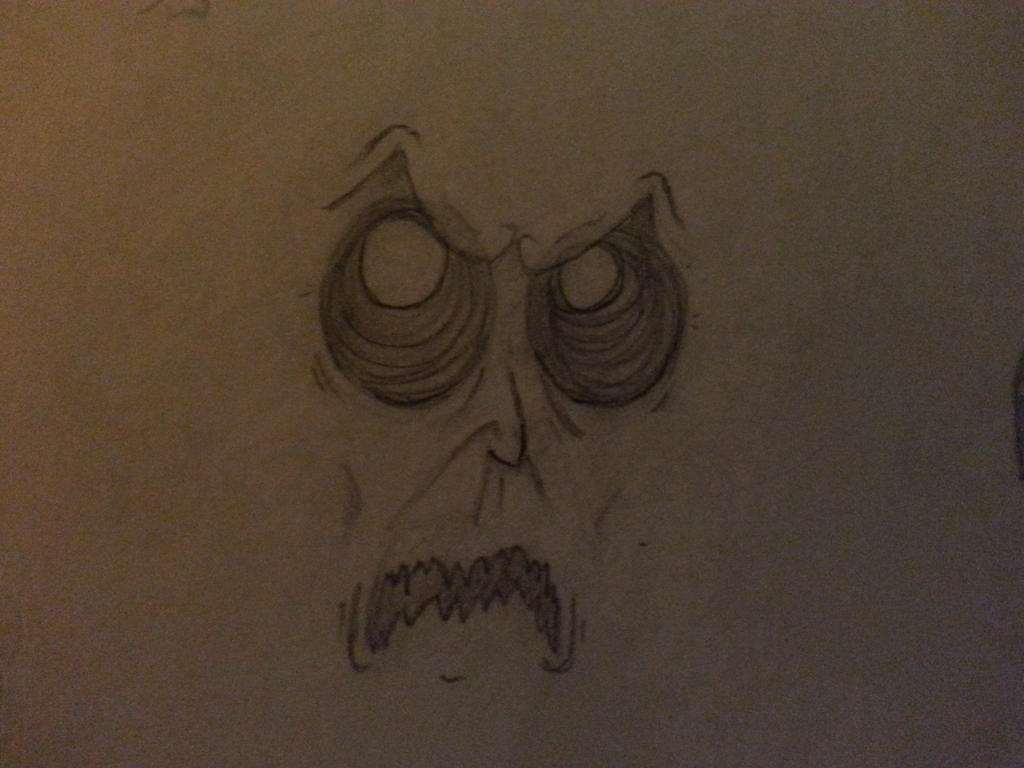 An angry face by Theodyn